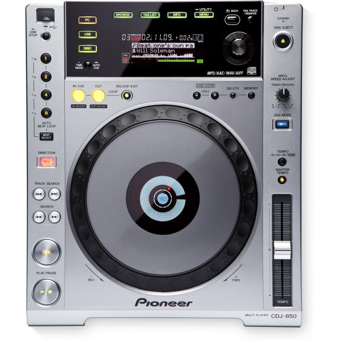 Pioneer DJ CDJ-850 Silver
