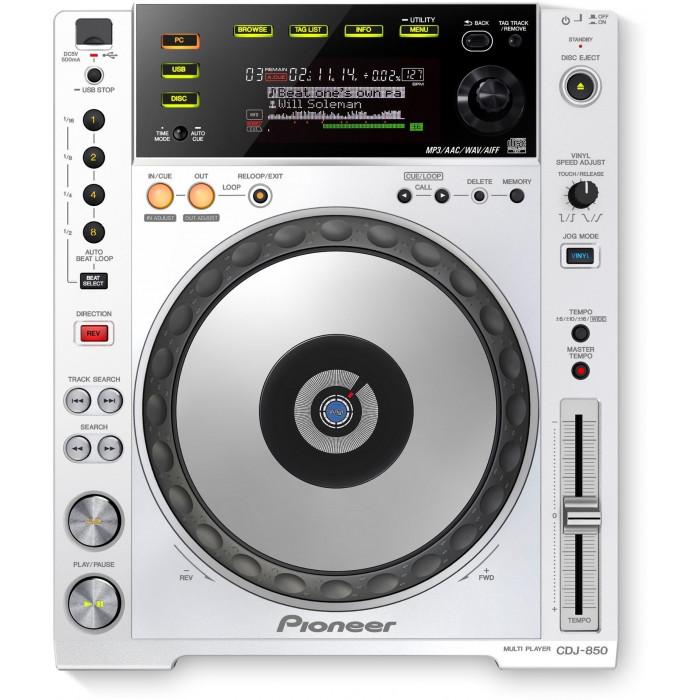 Pioneer DJ CDJ-850 White