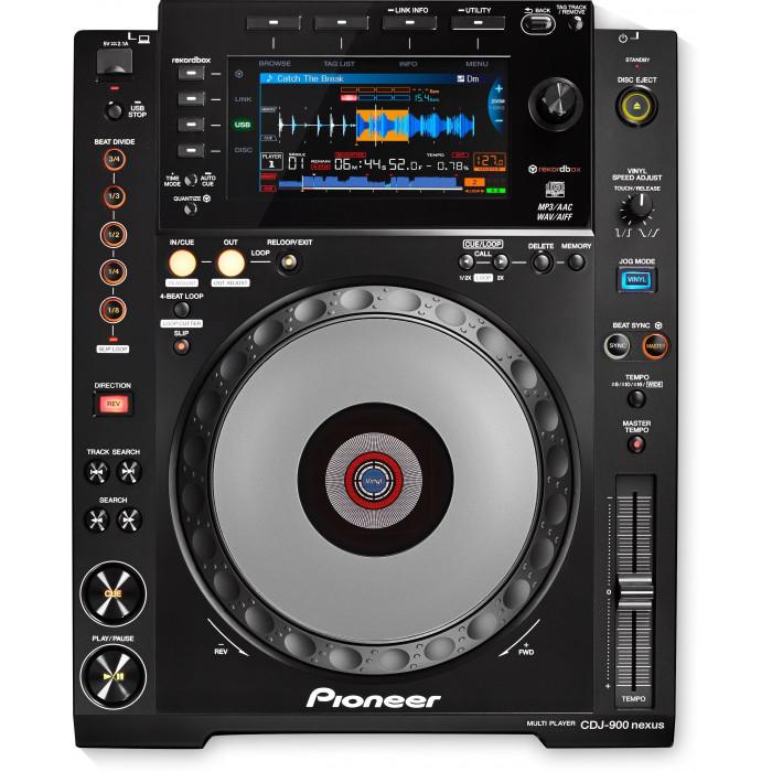 DJ CD проигрыватель Pioneer DJ CDJ-900NXS Black