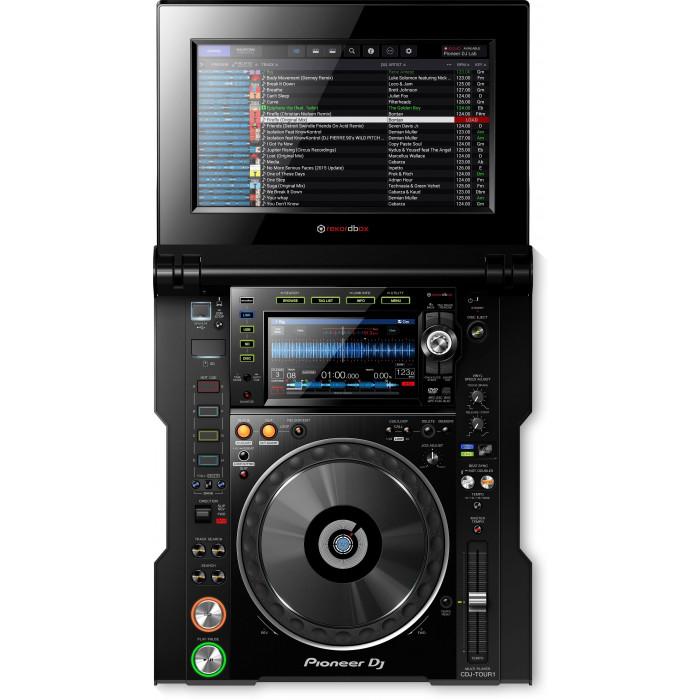 DJ CD проигрыватель Pioneer DJ CDJ-TOUR1 Black