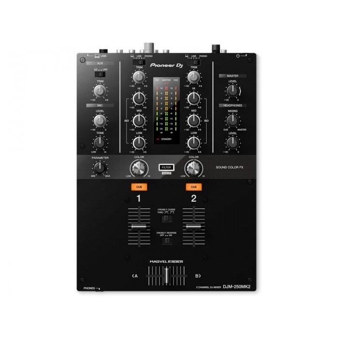 DJ Микшерный пульт Pioneer DJ DJM-250MK2 Black