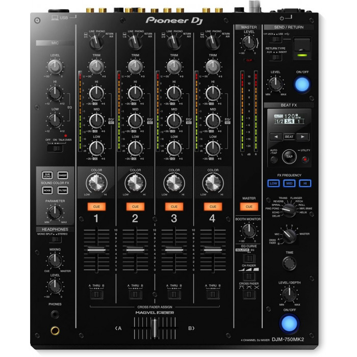 Pioneer DJ DJM-750MK2 Black