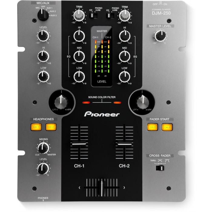Pioneer DJ DJM-250 Black/Silver