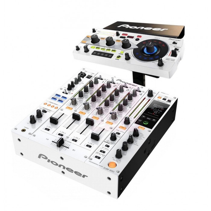 Pioneer DJ DJM850-RMX-PACK White