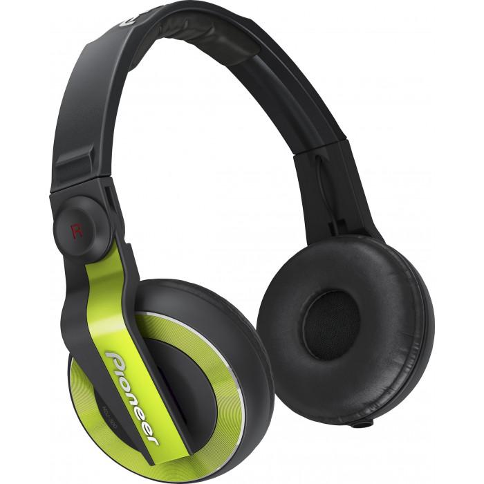 DJ Наушники Pioneer DJ HDJ-500 Green
