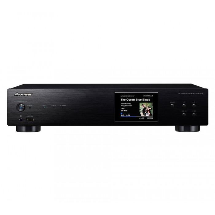 Сетевой аудио плеер  Pioneer N-50A Black