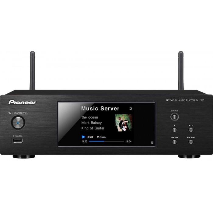 Сетевой аудио плеер  Pioneer N-P01 Black