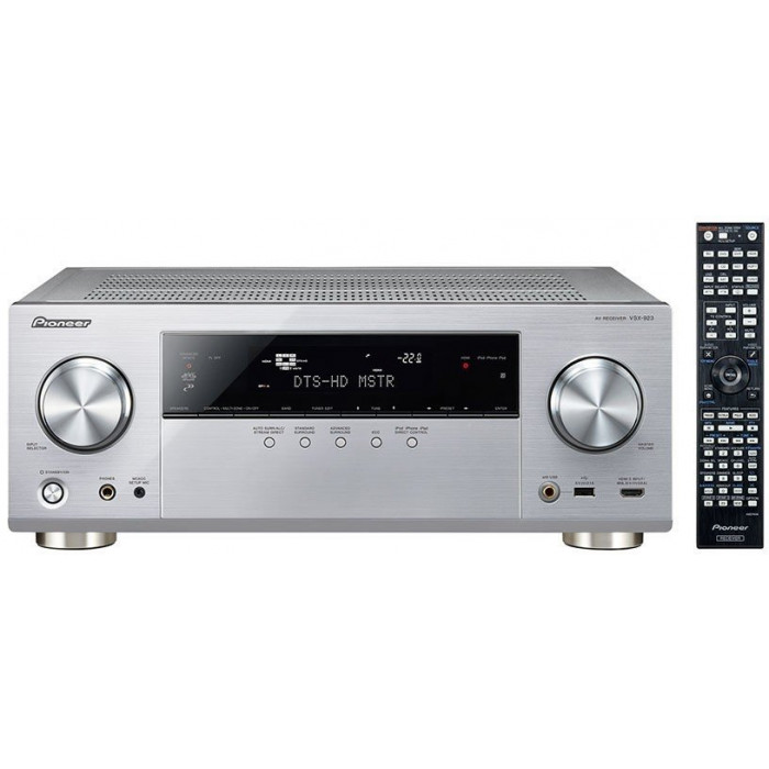 AV ресивер Pioneer VSX-923 Silver