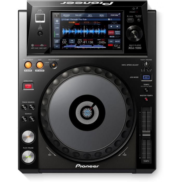 DJ USB проигрыватель Pioneer DJ XDJ-1000 Black