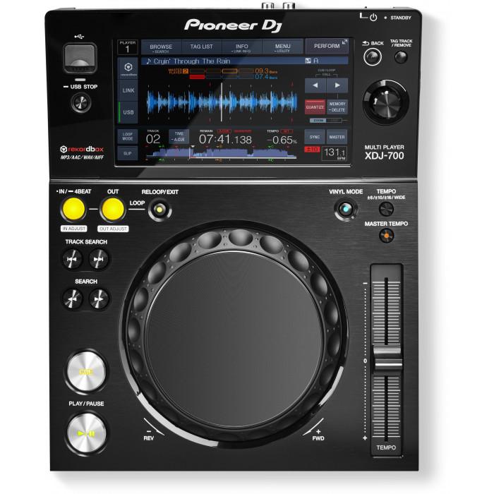DJ USB проигрыватель Pioneer DJ XDJ-700 Black