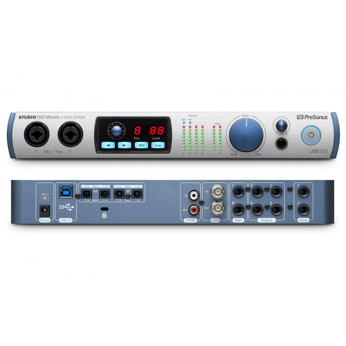 Aудиоинтерфейс PreSonus Studio192 Mobile