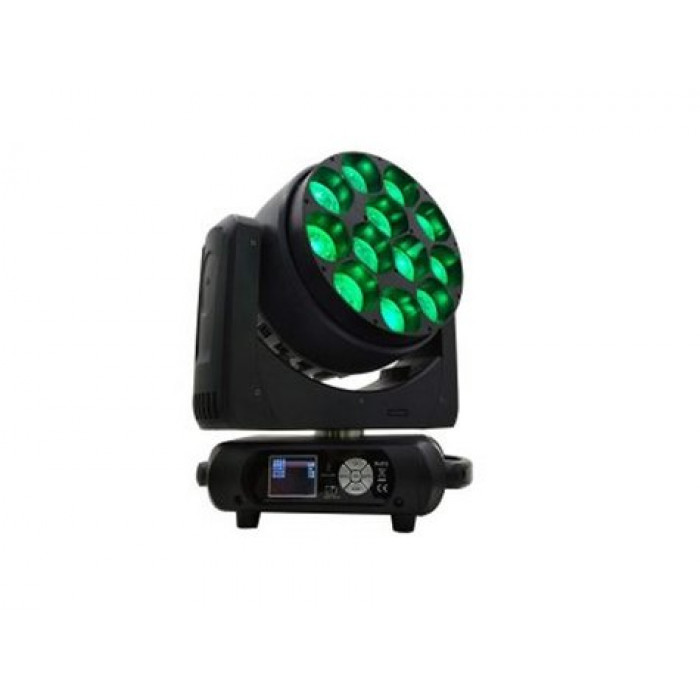 Pro Lux Led 1240  Led Wash Moving Head (12Pcs X  40W Rgbw 4In1 Led)