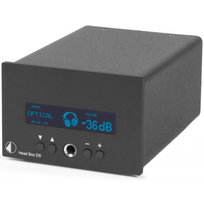 ЦАП/усилитель для наушников Pro-Ject Head Box DS Black