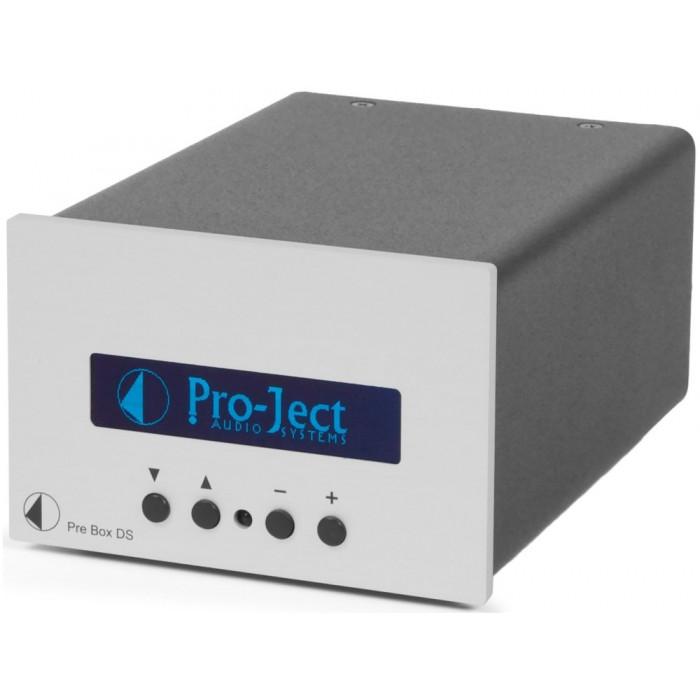 Предварительный усилитель Pro-Ject Pre Box DS Silver