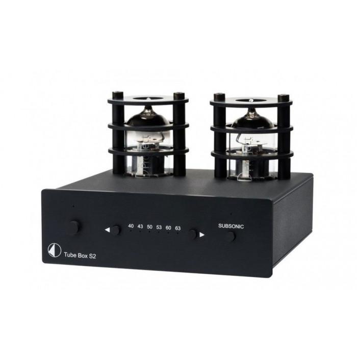 Фонокорректор Pro-Ject Tube Box S2 Black
