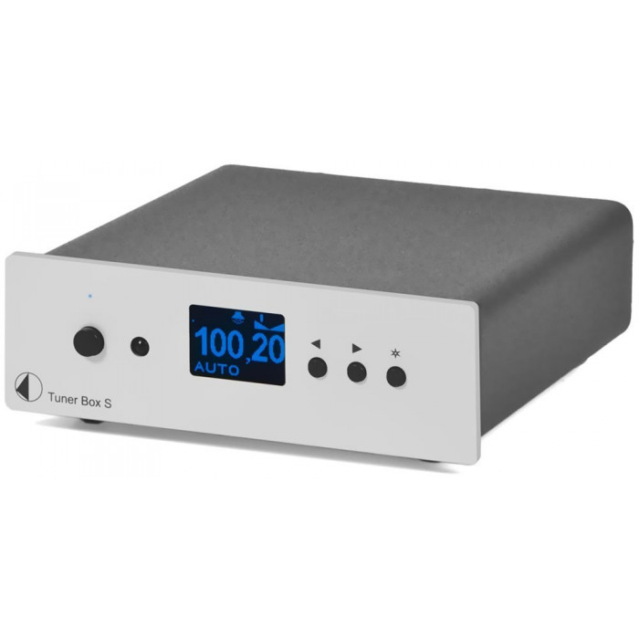 Тюнер AM/FM Pro-Ject Tuner Box S Silver