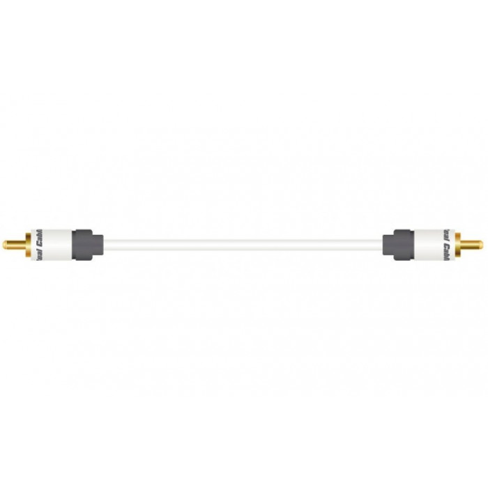 Real Cable SUB 1/2M (1 RCA - 1 RCA)