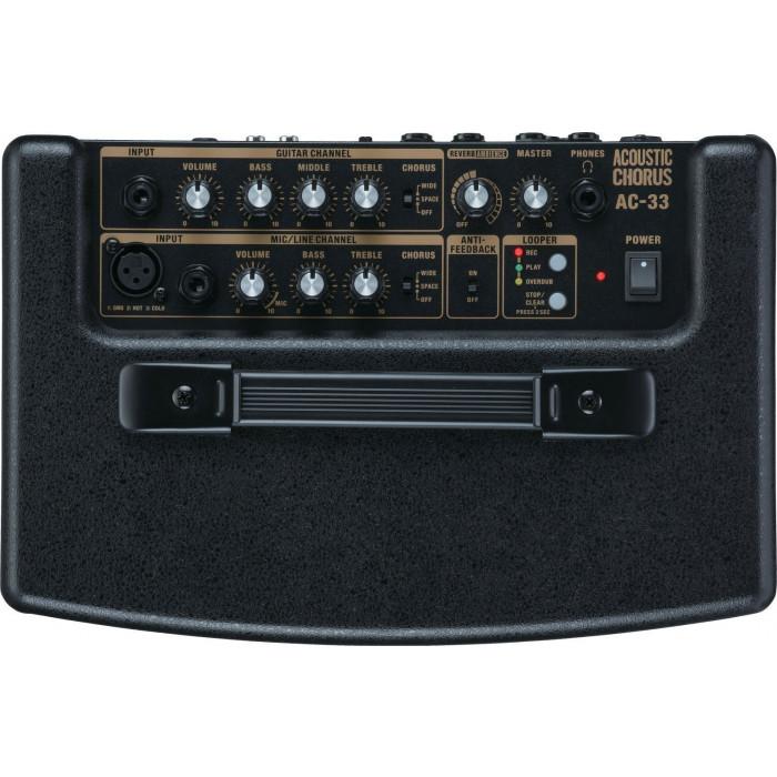 Комбоусилитель для акустической гитары Roland AC33