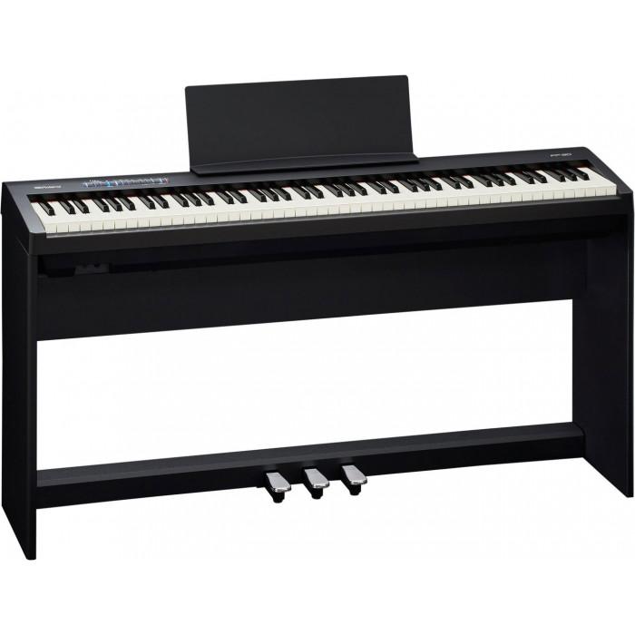Цифровое пианино Roland FP30BK+S