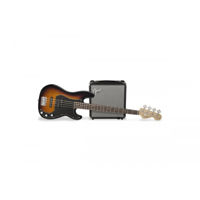 Гитарный набор Squier By Fender PJ BASS PACK BROWN SUNBURST