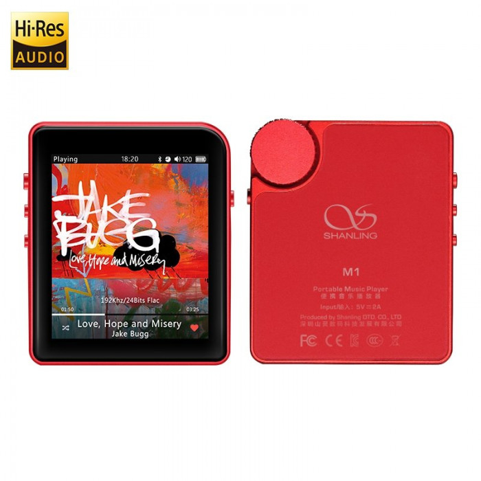 Shanling M1 Red