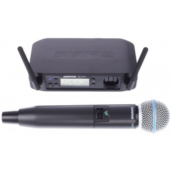 Радиомикрофонная система Shure GLXD24ESM58