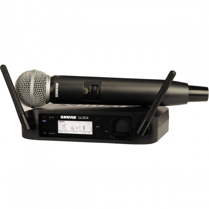 Радиомикрофон Shure GLXD2SM58