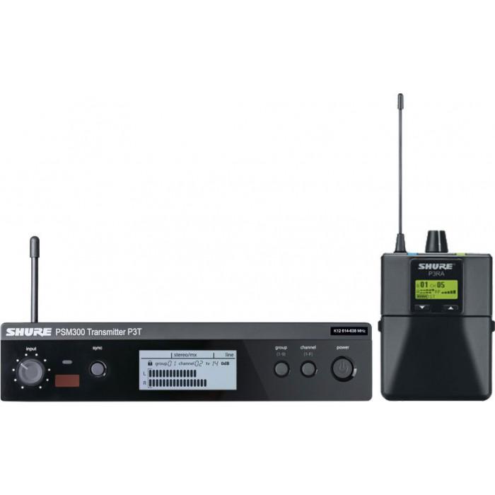 Система ушногомониторинга Shure P3TRA
