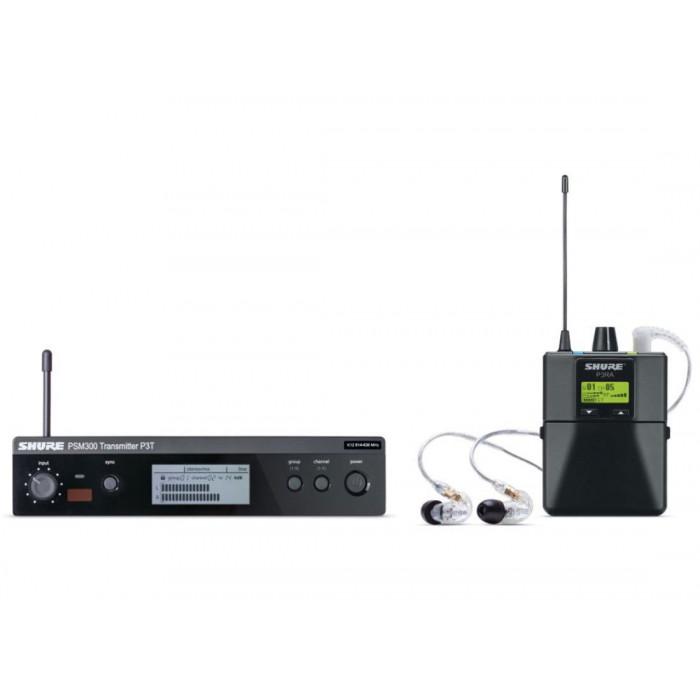 Система ушногомониторинга Shure P3TRA215CL