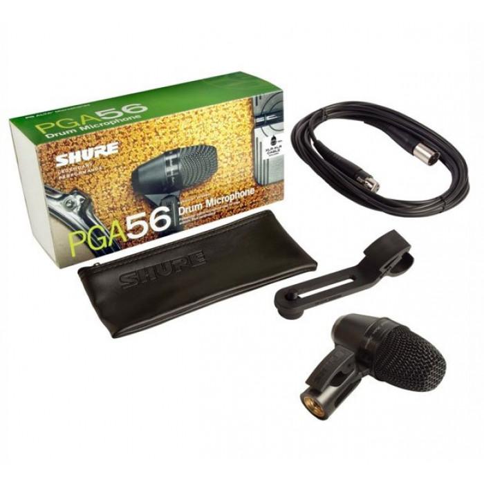 Инструментальный микрофон Shure PGA56XLR