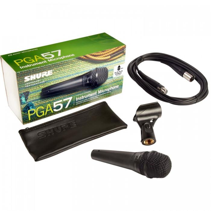 Инструментальный микрофон Shure PGA57XLR