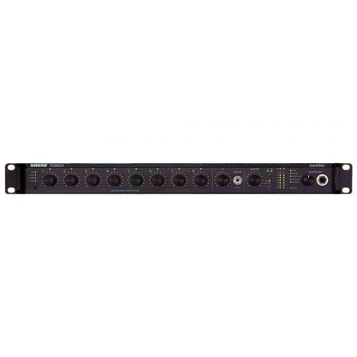 Микрофонный процессор Shure SCM820EDB25