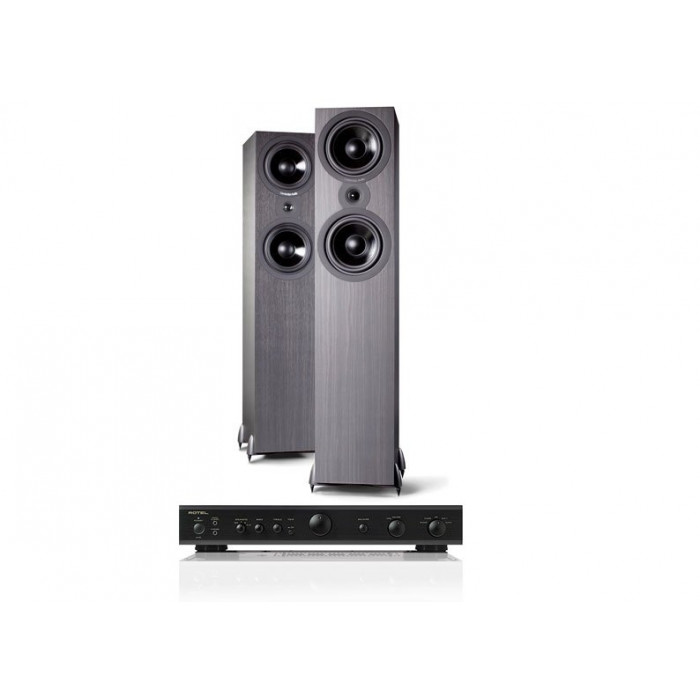 Стереокомплект Rotel A-10+Cambridge Audio SX 80