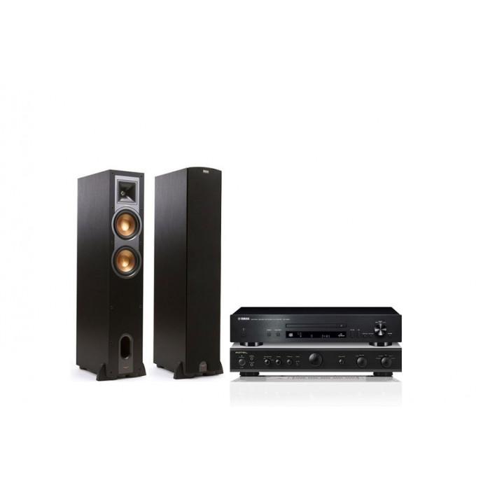Стереокомплект Rotel A-10+Klipsch Reference R-24F+Yamaha CD-N301