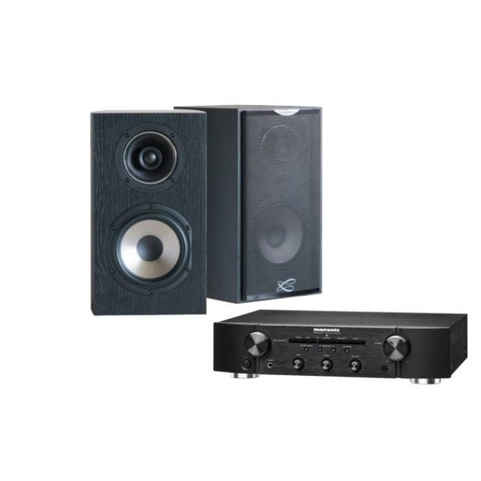 Стереокомплект Cabasse MC 170 Antigua + Marantz PM5005