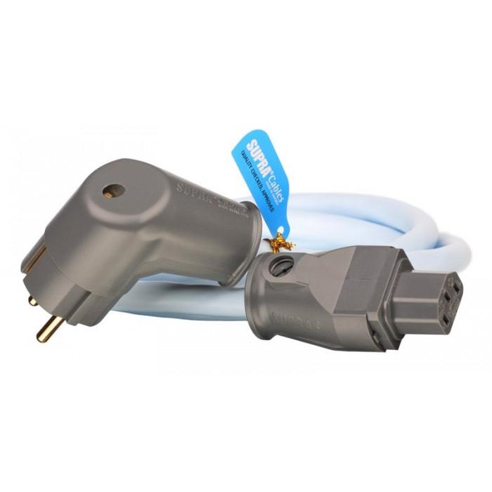 Силовой кабель Supra Lorad 1.5 Cs-Eu/Angled 1.5M