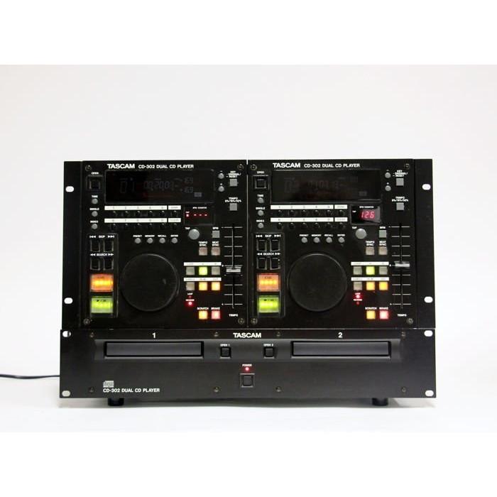 DJ Dual CD проигрыватель TASCAM CD-302