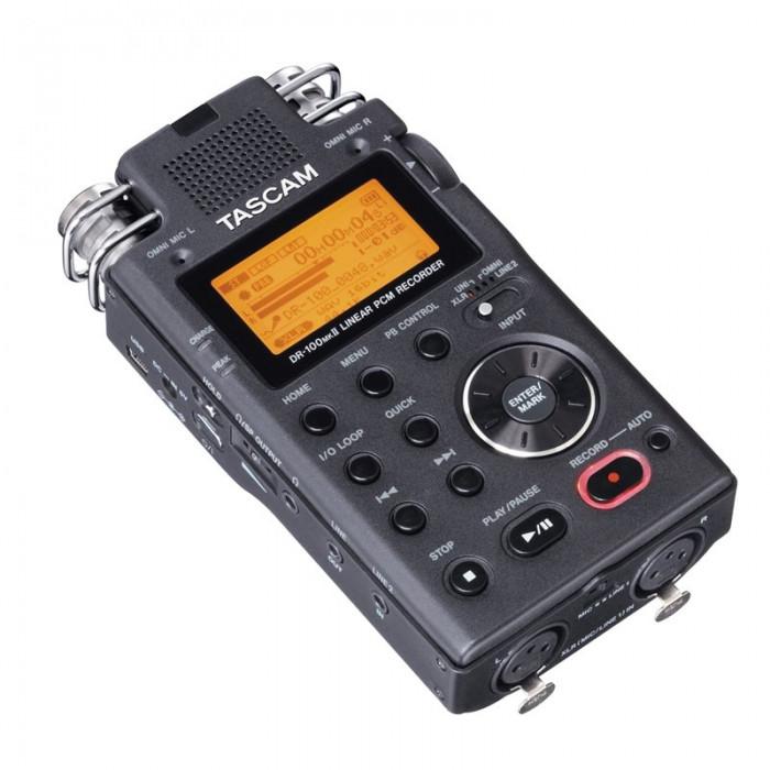 Портативный PCM/MP3 рекордер TASCAM DR-100MK2