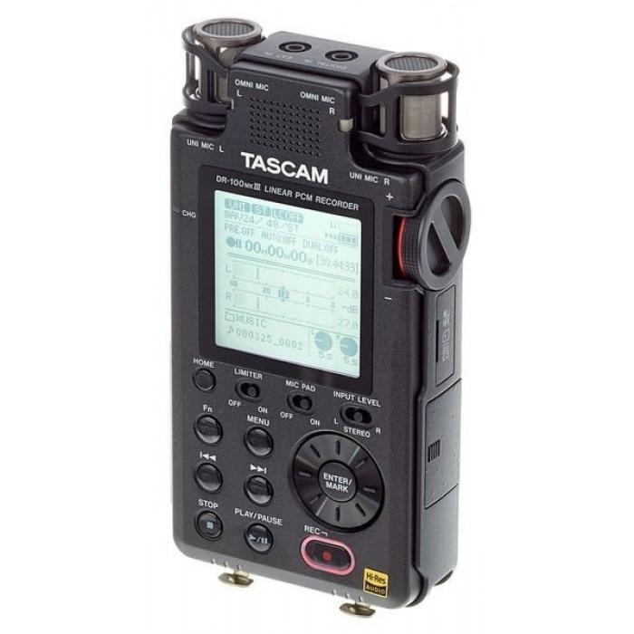 Портативный PCM/MP3 рекордер TASCAM DR-100MK3