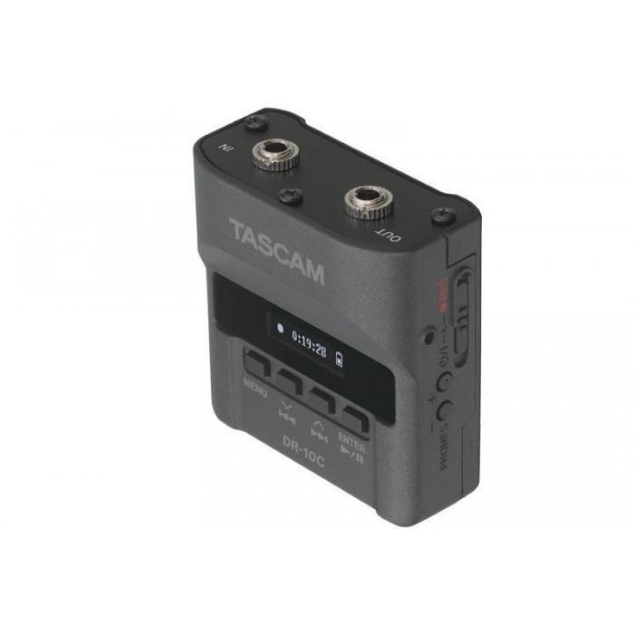 Поясной аудио рекордер TASCAM DR-10CS