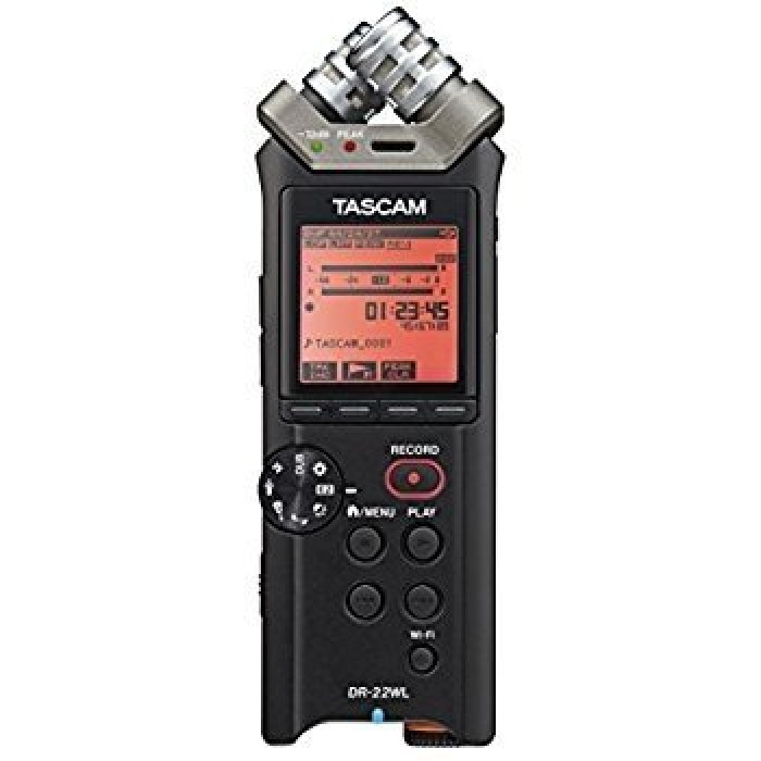 Портативный аудио рекордер TASCAM DR-22WL