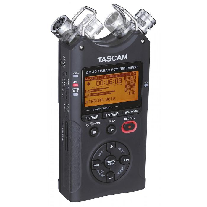 Портативный аудио рекордер TASCAM DR-40