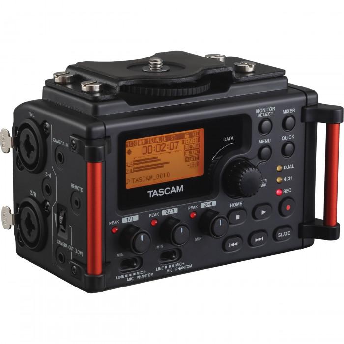 Портативный аудио рекордер TASCAM DR-60DMK2