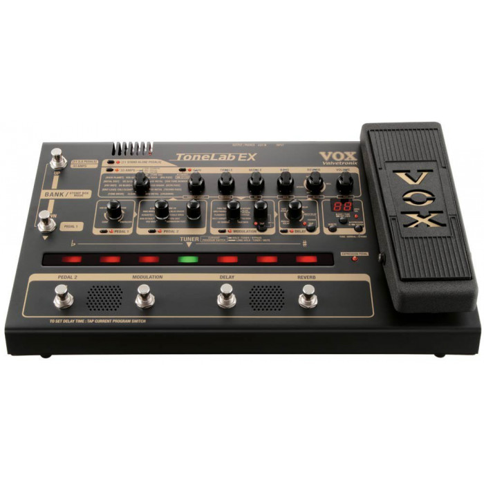 Напольный моделирующий гитарный процессор VOX Tonelab Ex