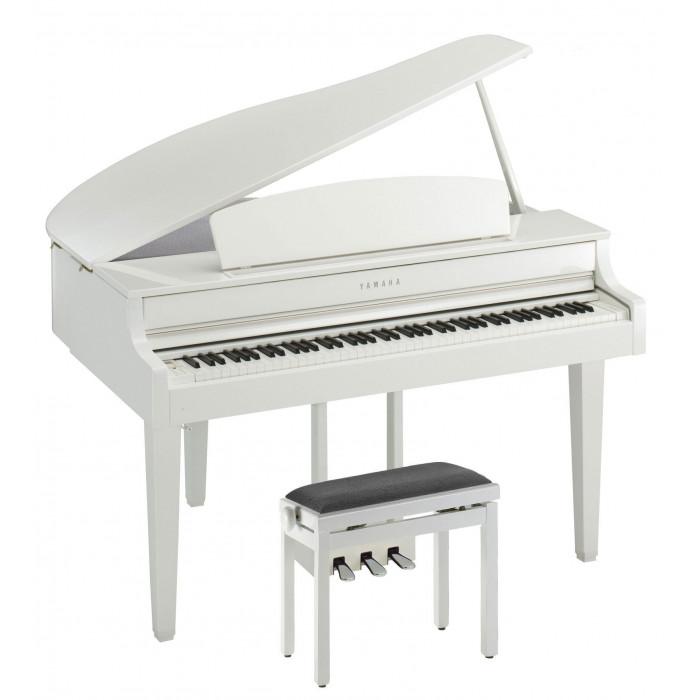 Цифровое пианино YAMAHA CLP-665GPWH + Подарок!