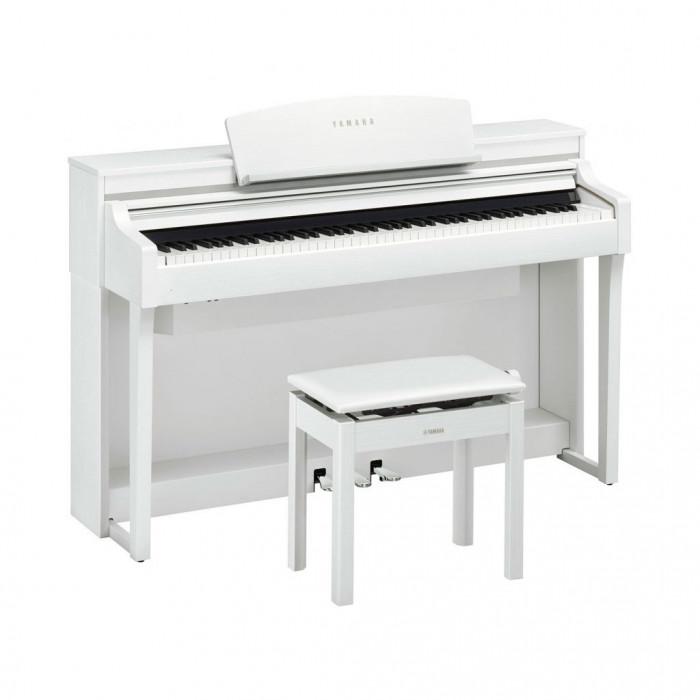 Цифровое пианино YAMAHA CSP-170WH + Подарок!