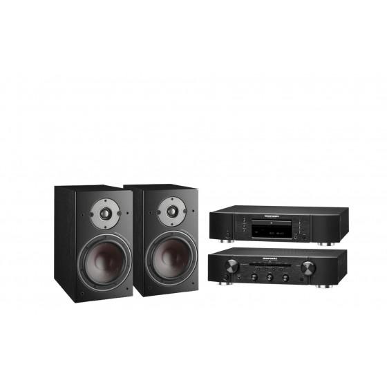 Стереокомплект Marantz CD5005 + Marantz PM5005 + DALI  Oberon 3