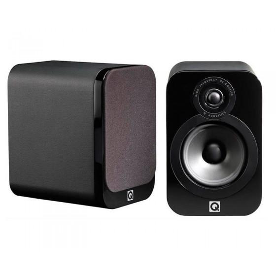 Полочная акустика Q Acoustics QA3014 Black Leather