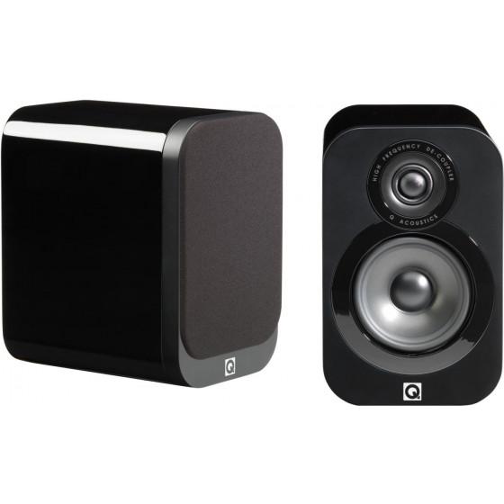 Полочная акустика Q Acoustics QA3016 Black Lacquer