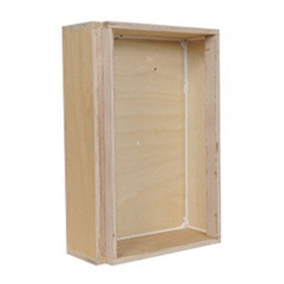 SpeakerCraft AIM LCR WOOD BACK BOX White